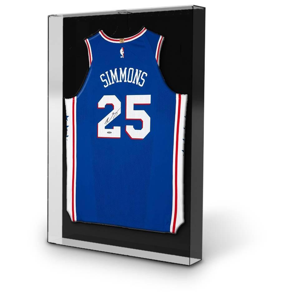 Ben Simmons Signed 76ers Away Nike Jersey1