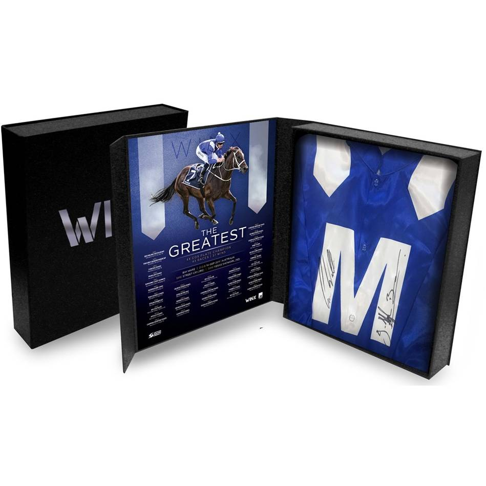 Winx Dual Signed Boxed Silks0