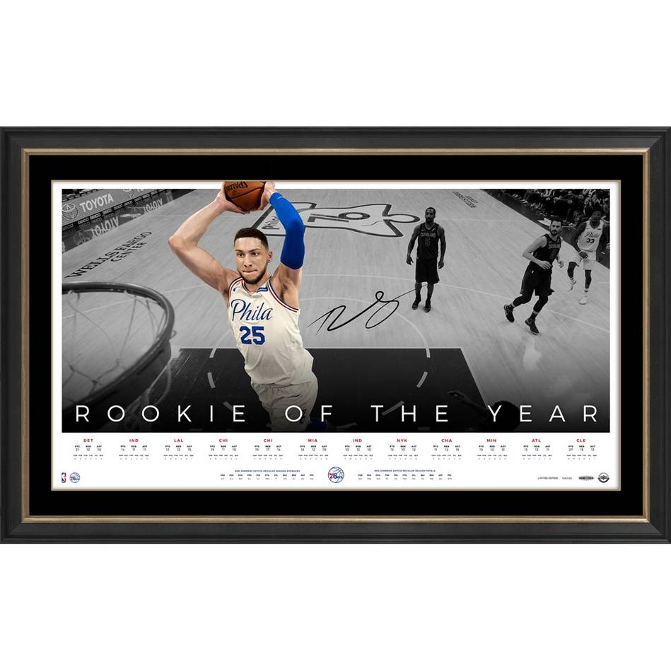 EDITION #1 – Ben Simmons Signed 'Rookie of the Year'0