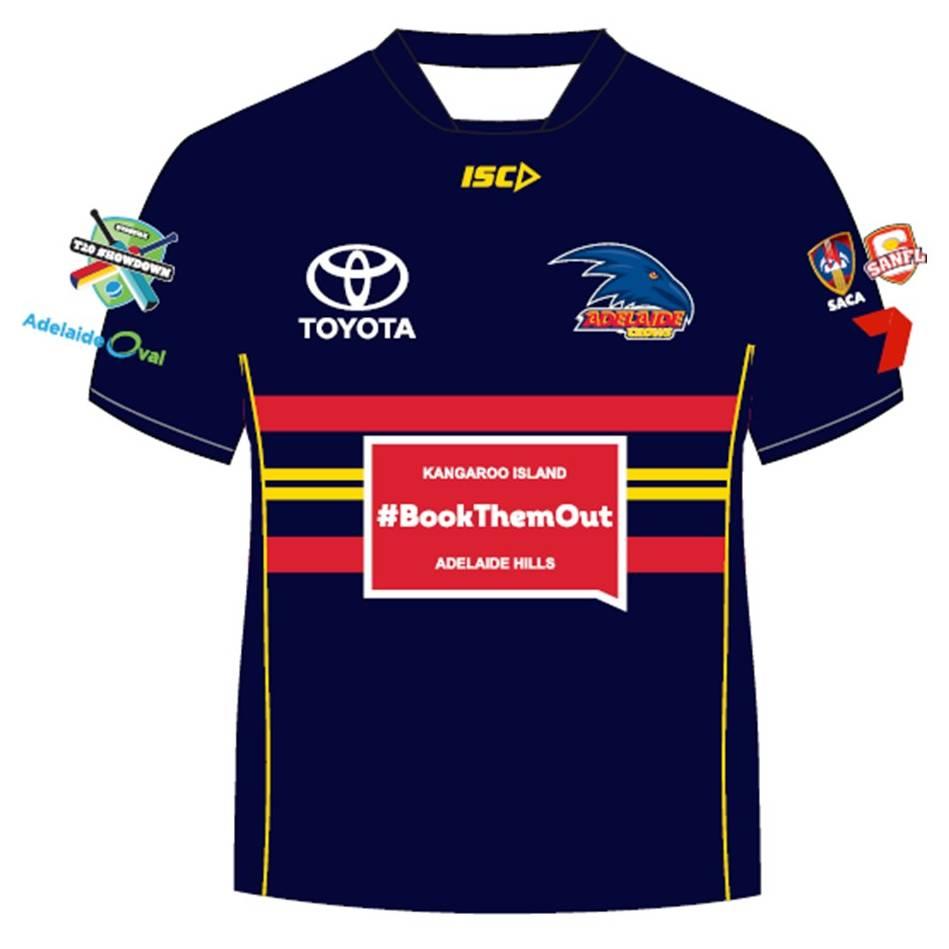 Kane Richardson – Crows T20 Showdown Shirt0