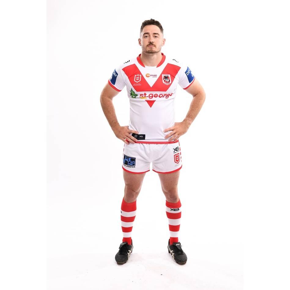 Adam Clune 2020 Signed Match-Worn SGID Nines Jersey