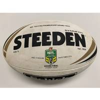 Cronulla Sharks 2016 NRL Grand Final Match-Used Ball