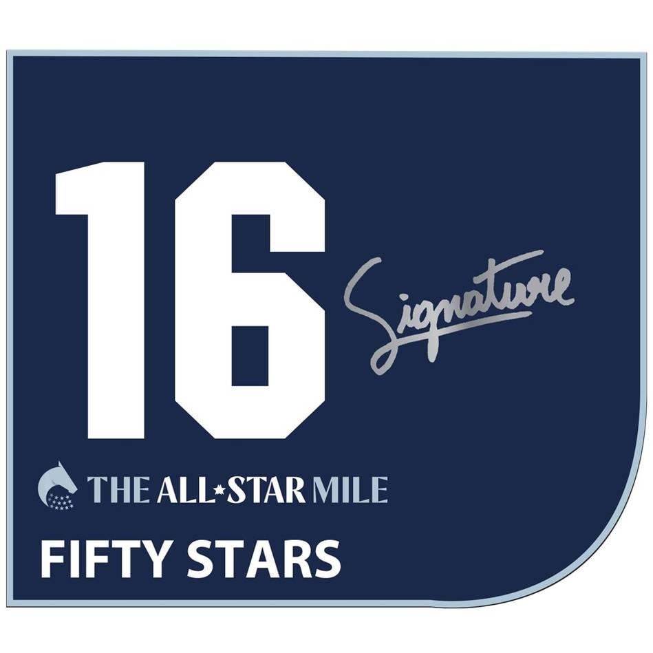 Fifty Stars - John Allen Signed Saddlecloth0