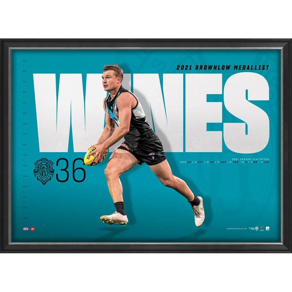 Ollie Wines Brownlow Medal Sportsprint0