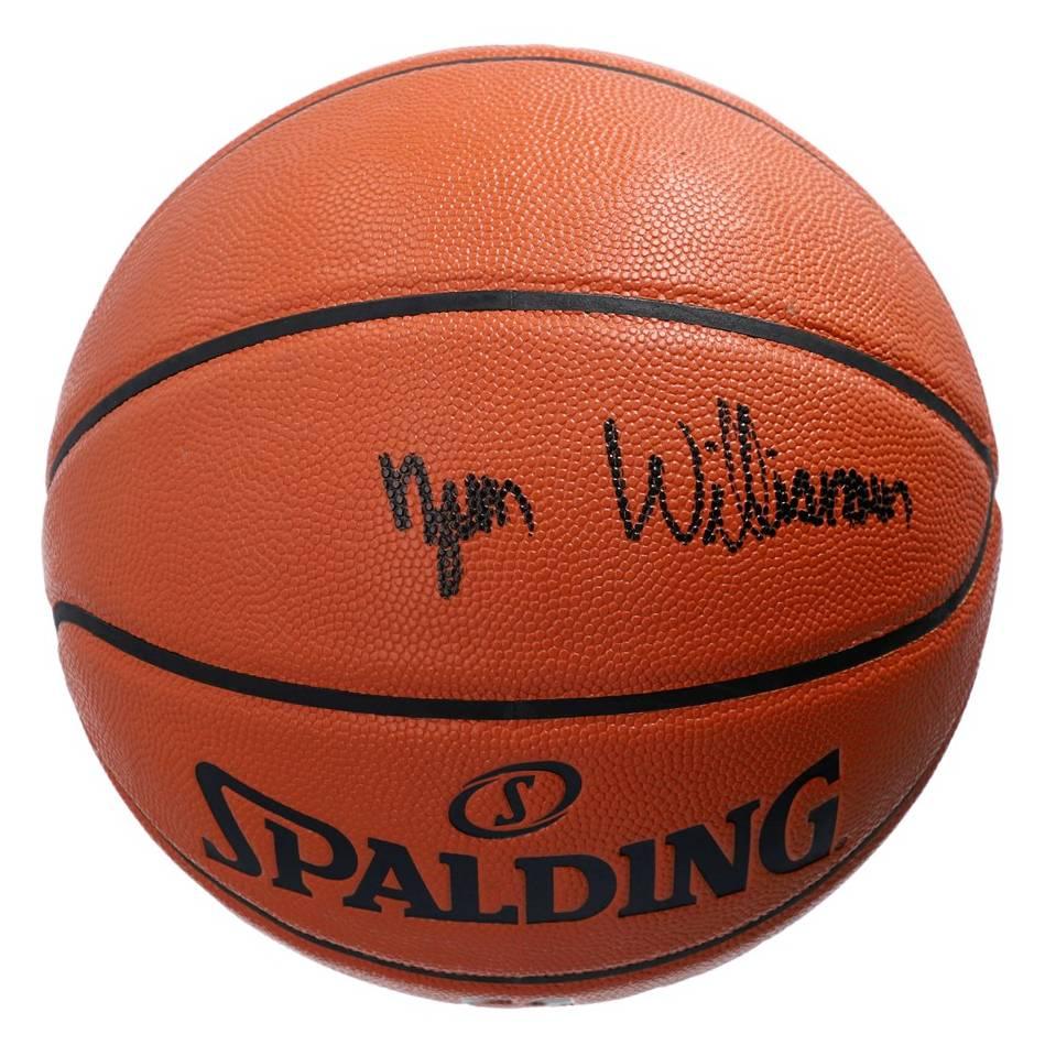 Zion Williamson Signed Basketball0