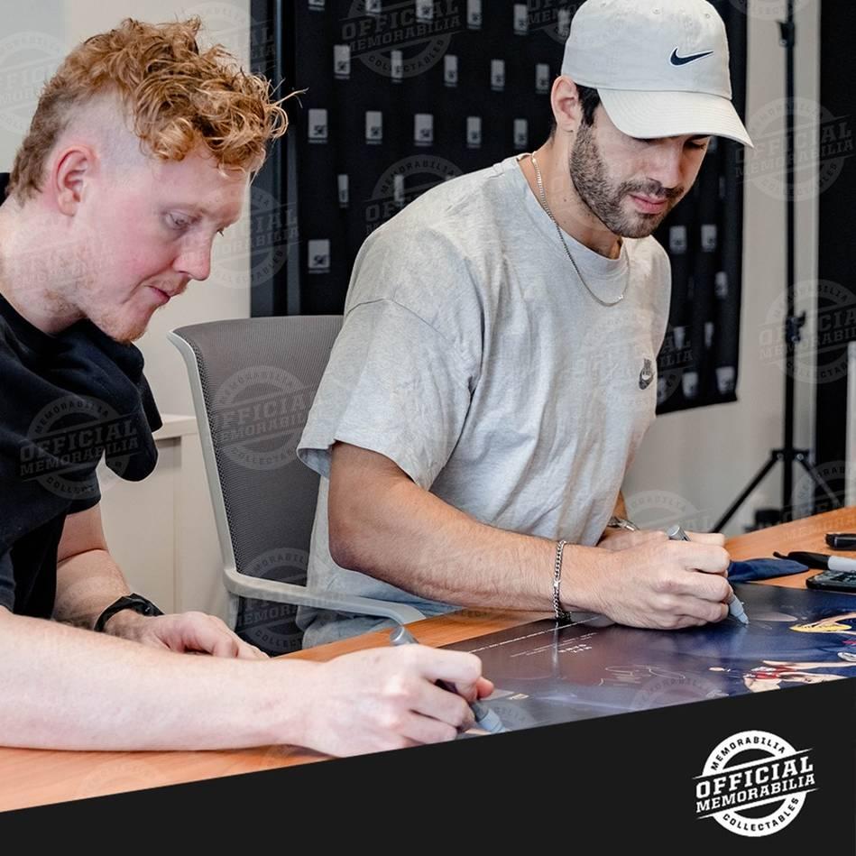 Melbourne 2021 Premiers Triple Signed Lithograph2